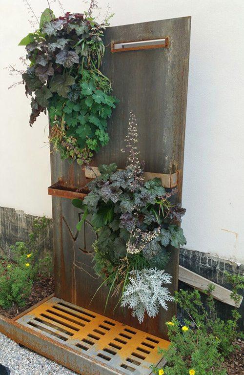 Una parete verde (1)